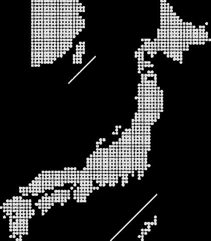 日本在宅介護協会 日本地図